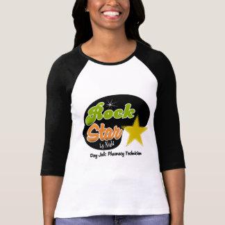 T-shirt Vedette du rock par nuit - technicien de pharmacie