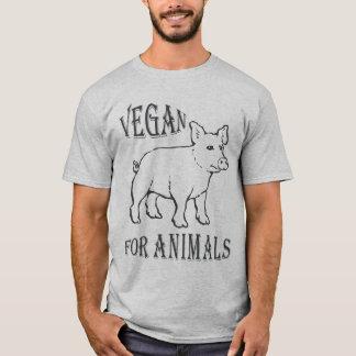 T-SHIRT VEGAN FOR ANIMALS - 02M