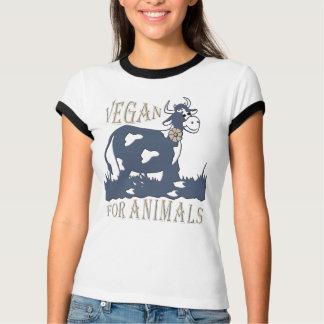 T-SHIRT VEGAN FOR ANIMALS - 05W