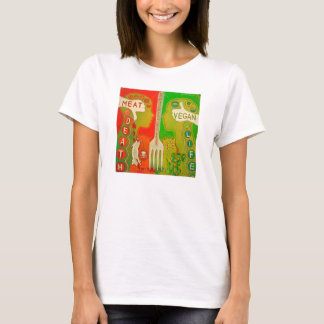T-shirt Vegan fork