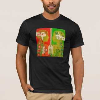 T-shirt Vegan fork