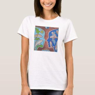 T-shirt Vegan free fish