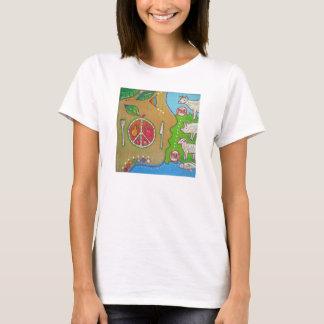 T-shirt Vegan plate