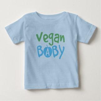T-shirt végétalien de nourrisson de bébé