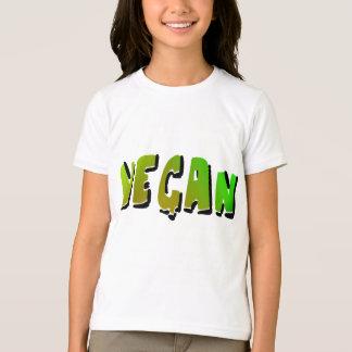 T-shirt Végétalien génial avec l'ombrage