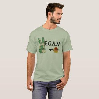 T-shirt Végétalien, pas un voyou