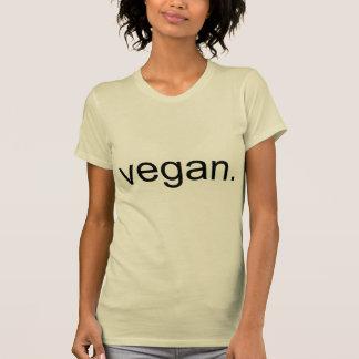 T-shirt Végétalien.  Période !