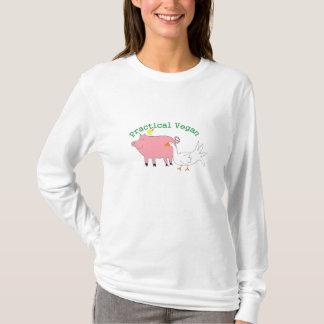 T-shirt Végétalien pratique -