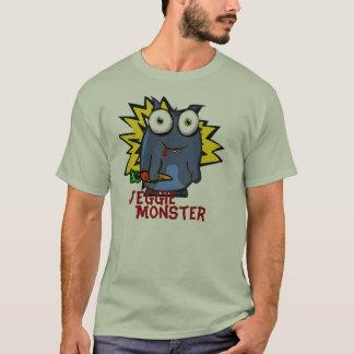 T-shirt végétarien de monstre