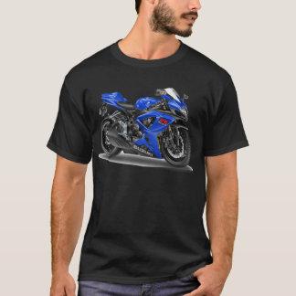 T-shirt Vélo de bleu de Suzuki GSX-R600