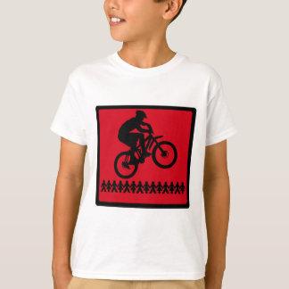 T-shirt Vélo la rivière rouge