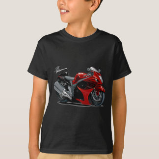 T-shirt Vélo Rouge-Noir de Hayabusa