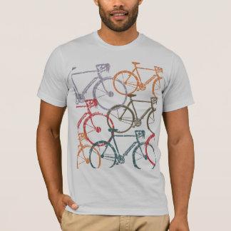 T-shirt vélos graphiques/recyclage de bicyclette