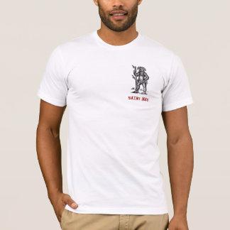 T-shirt velu d'homme