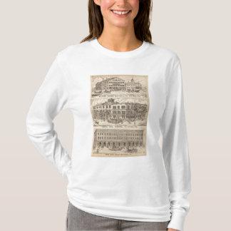 T-shirt Vénérez la Chambre et le bloc de Crosby dans