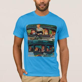 T-shirt Venez et aller par Norman Rockwell