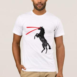 T-shirt Vengeur de rouge de cheval de laser