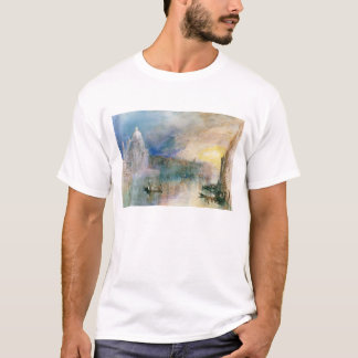 T-shirt Venise : Canal grand avec le salut de della Santa