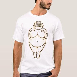 T-shirt Vénus de pièce en t de Willendorf