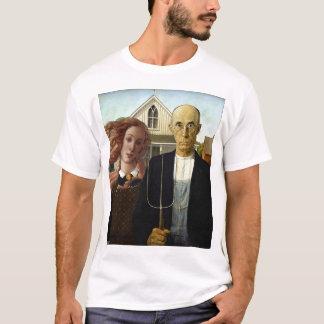 T-shirt Vénus gothique américain