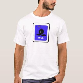 T-shirt Ver de bombe. 2,57648