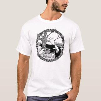 T-shirt Verger de trois grues