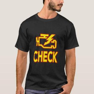 T-shirt Vérifiez le moteur