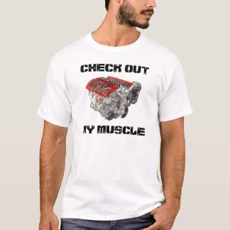 T-shirt Vérifiez mon muscle