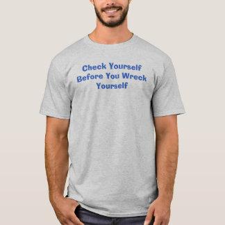 T-shirt vérifiez-vous