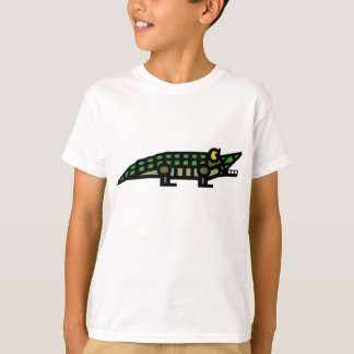 "T-shirt ""véritable"" d'alligator"