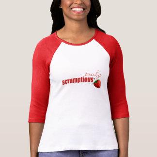 "T-shirt ""véritablement délicieux"""