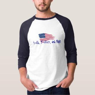 T-shirt Vérité, juge, et BOB