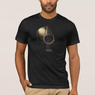 T-shirt Vers 2 de guitare acoustique (voir svp les