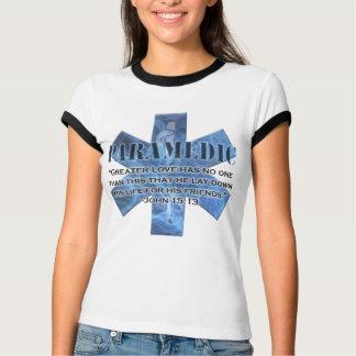 T-shirt vers de bible d'infirmier