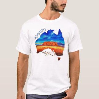 T-shirt Vers le bas dessous