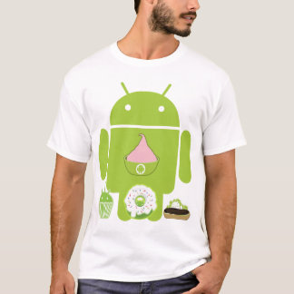T-shirt Versions androïdes