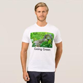 T-shirt vert allant