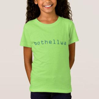 T-shirt vert de bothellwa de Goin de filles