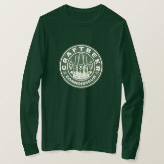 T-shirt Vert de connaisseur de bière de métier