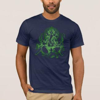 T-shirt VERT de détail de Ganesh