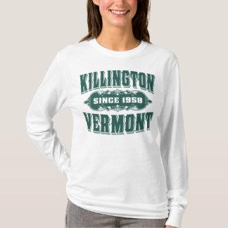 T-shirt Vert de Killington depuis 1958 Vermont