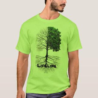 T-shirt Vert de ligne de sauvetage
