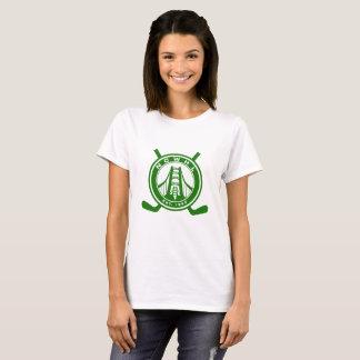 T-shirt vert de logo