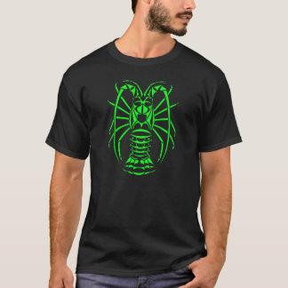 T-shirt Vert de néon de langouste