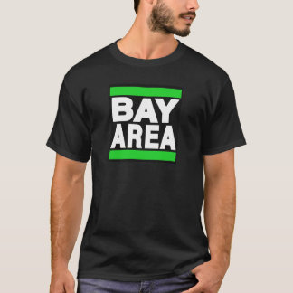 T-shirt Vert de région de baie