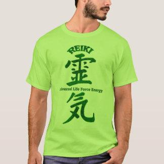 T-shirt Vert de Reiki