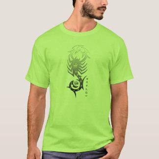 T-shirt vert de Scorpion