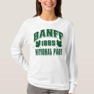 T-shirt Vert de style ancien de Banff NP