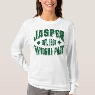T-shirt Vert de style ancien de jaspe