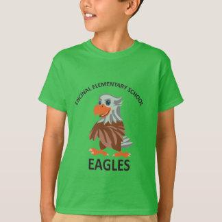 T-shirt vert d'Eddie